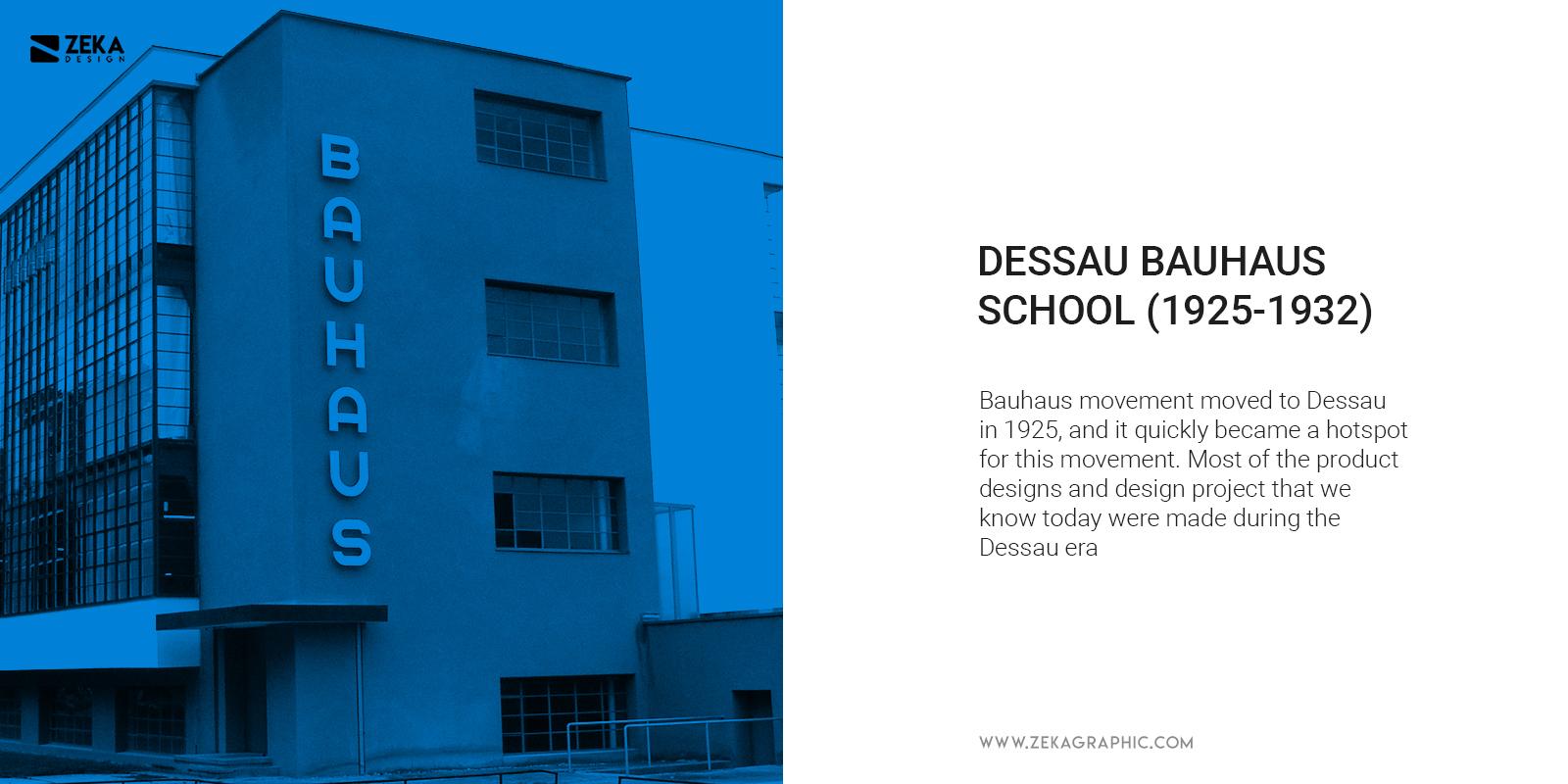 Dessau Bauhaus School Design History