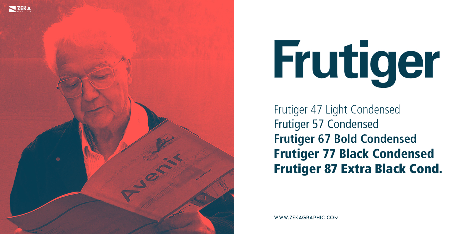 Frutiger Fonts Every Graphic Designer Should Have