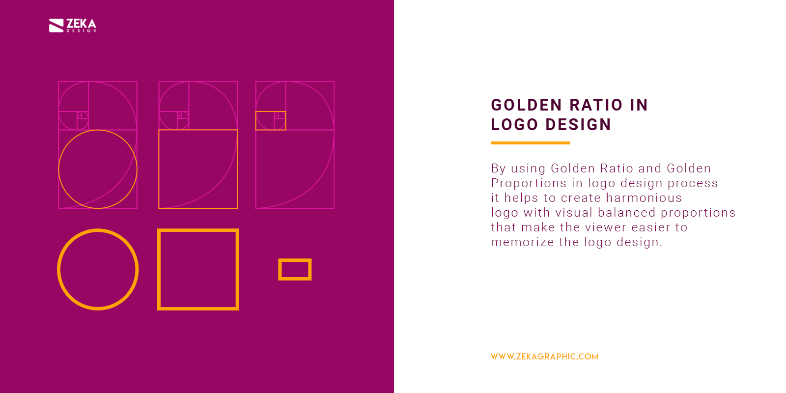 Hos To Use Golden Ratio in Logo Design Explained