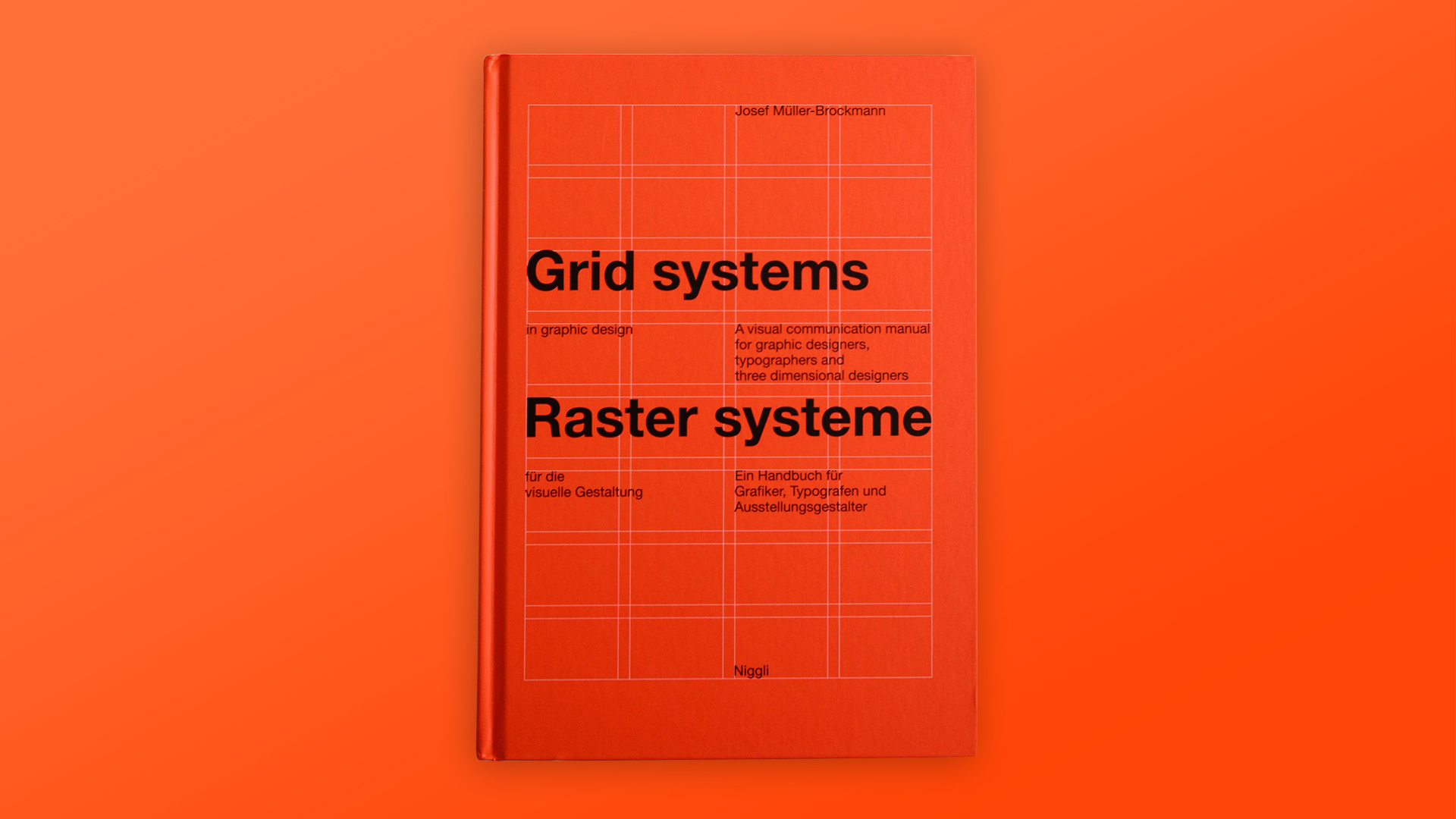 Grid Systems in Graphic Design Book