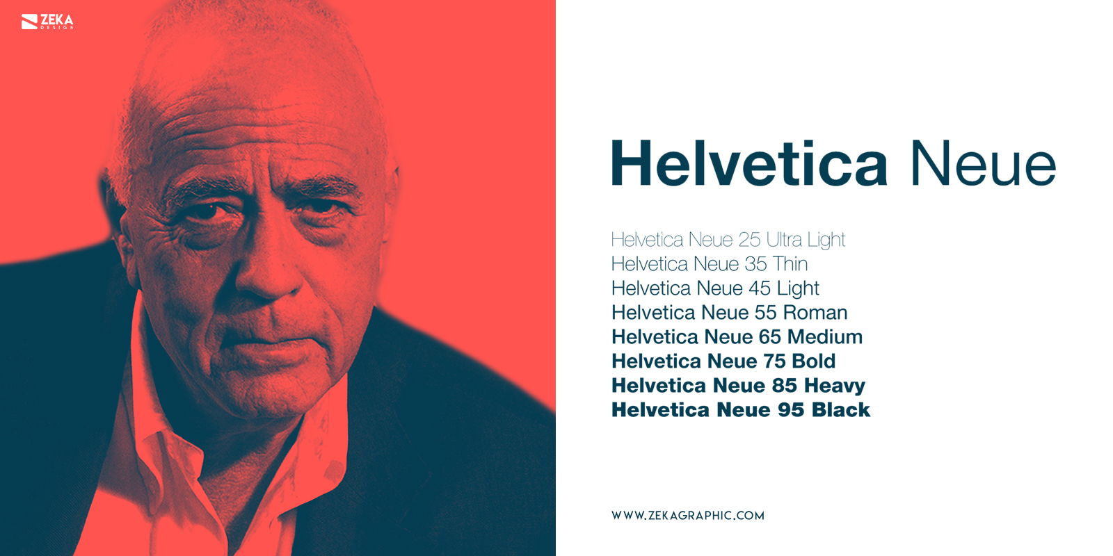 Helvetica Neue Fonts Every Graphic Designer Should Have