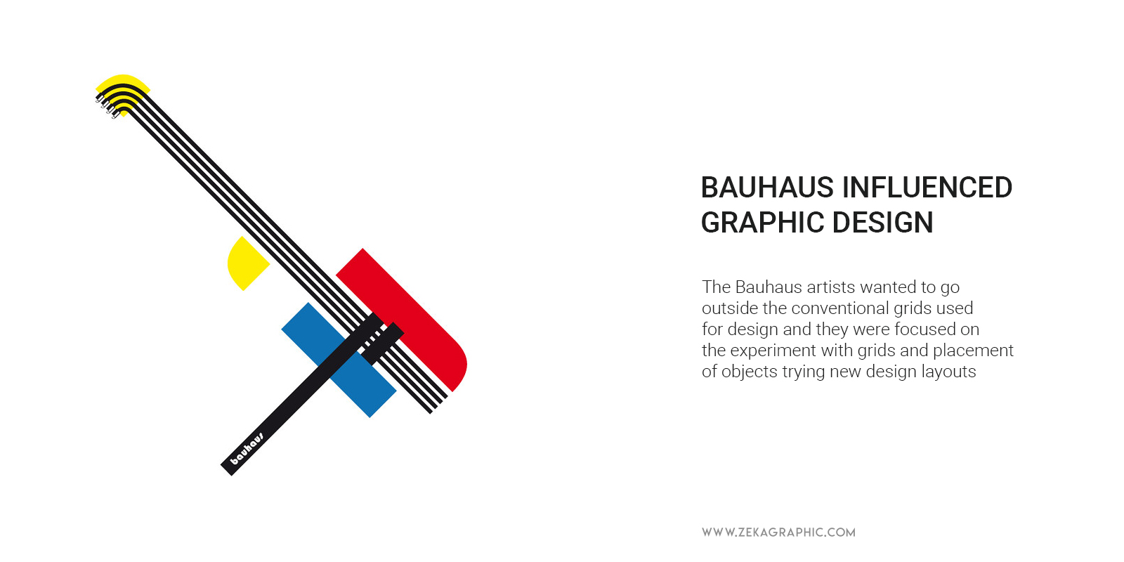How Bauhaus influenced Graphic Design Experimental Grid Layouts