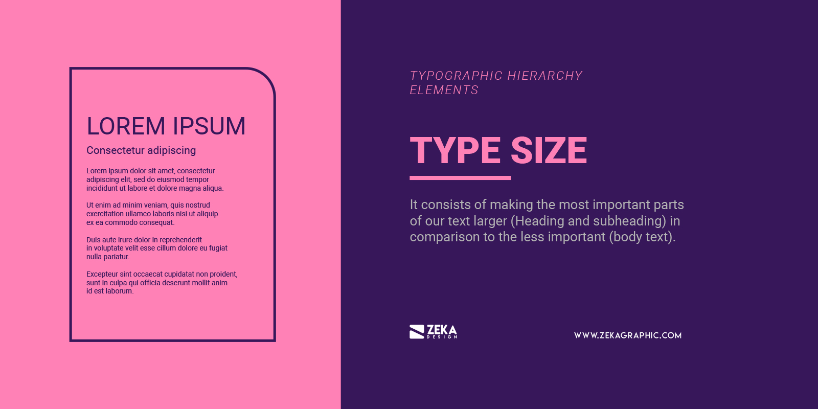 How To Create Typographic Hierarchy Using Type Size