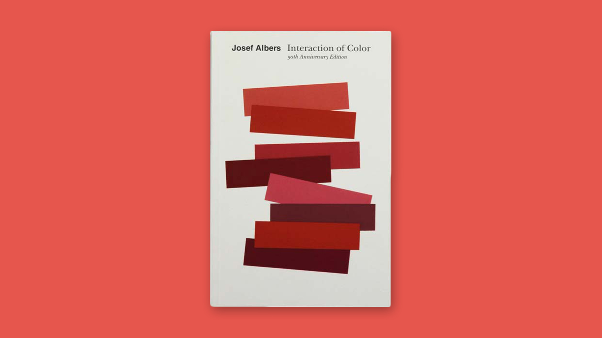 Interaction Of Color by Josef Albers Graphic Design Books