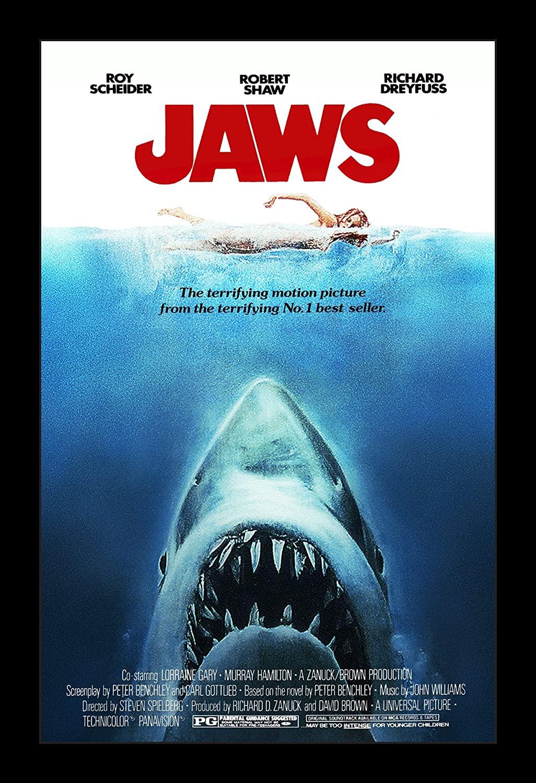 Jaws Movie Poster Design