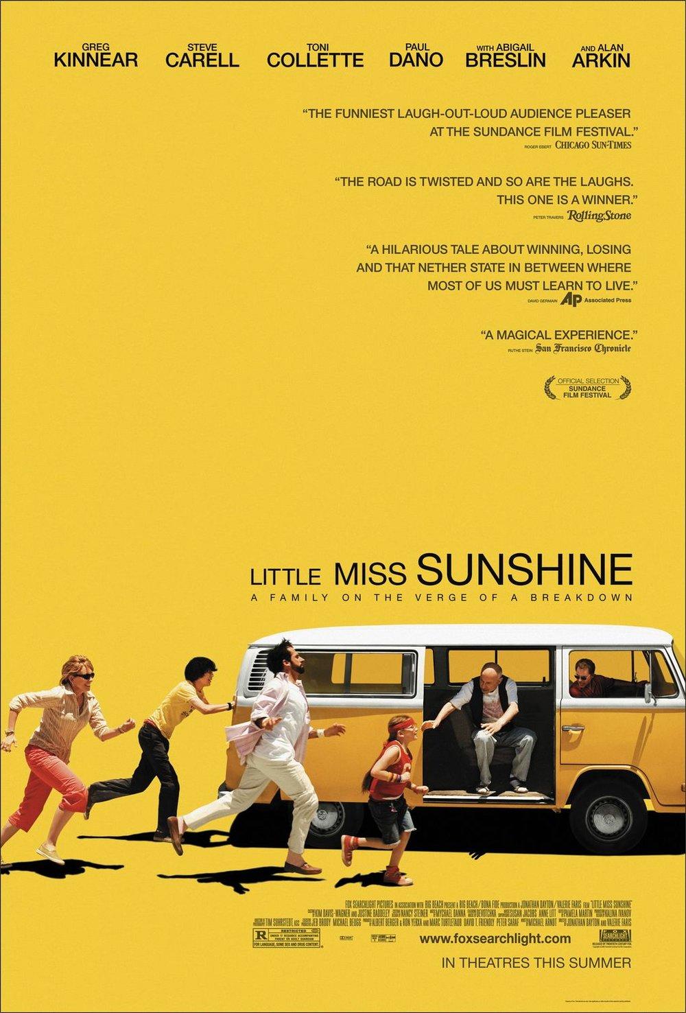 Little Miss Sunshine Poster Design