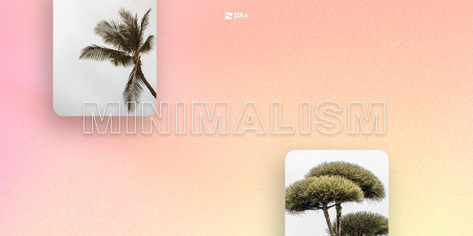 Minimalism UI UX Design Trend 2021