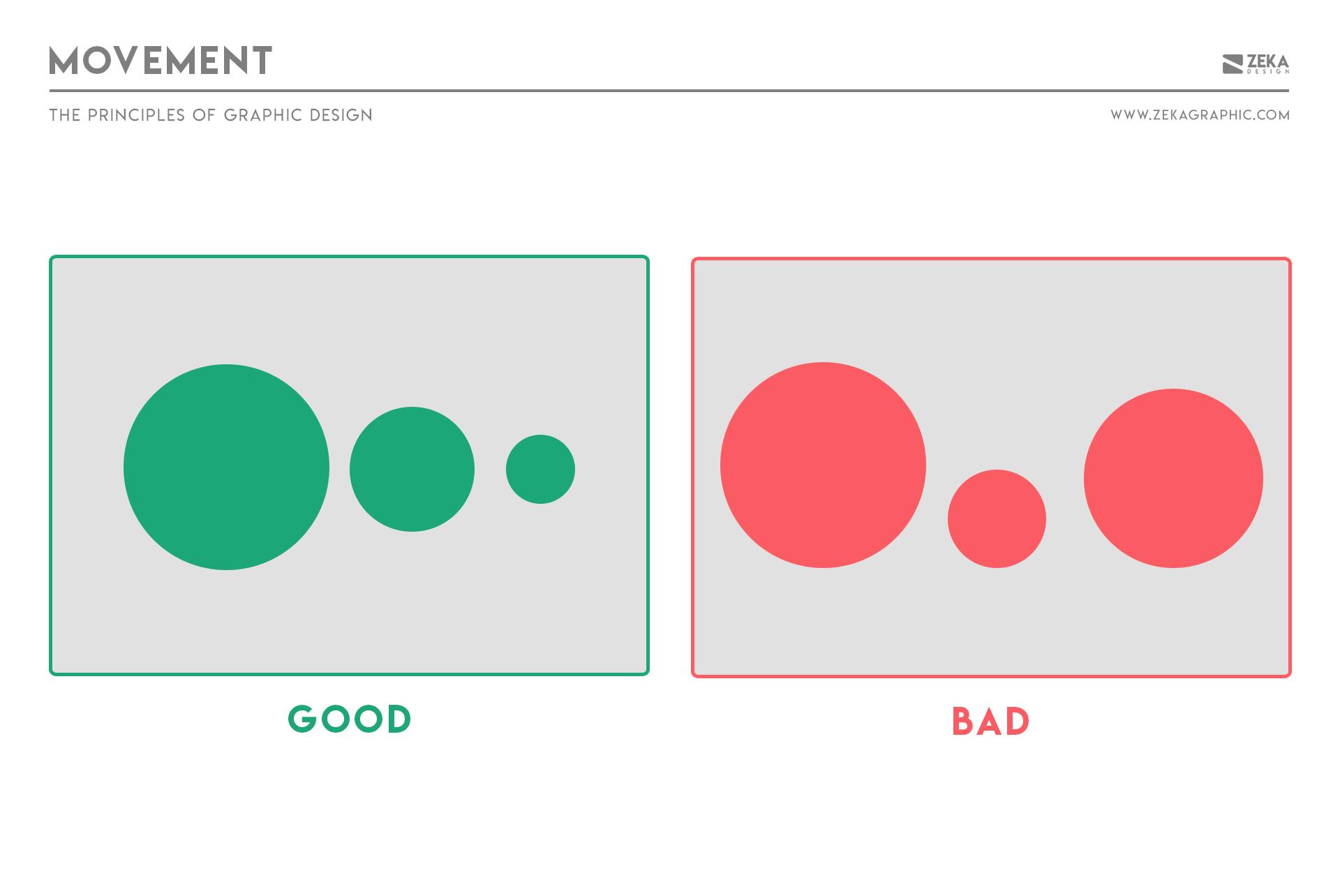 Movement Principle in Graphic Design
