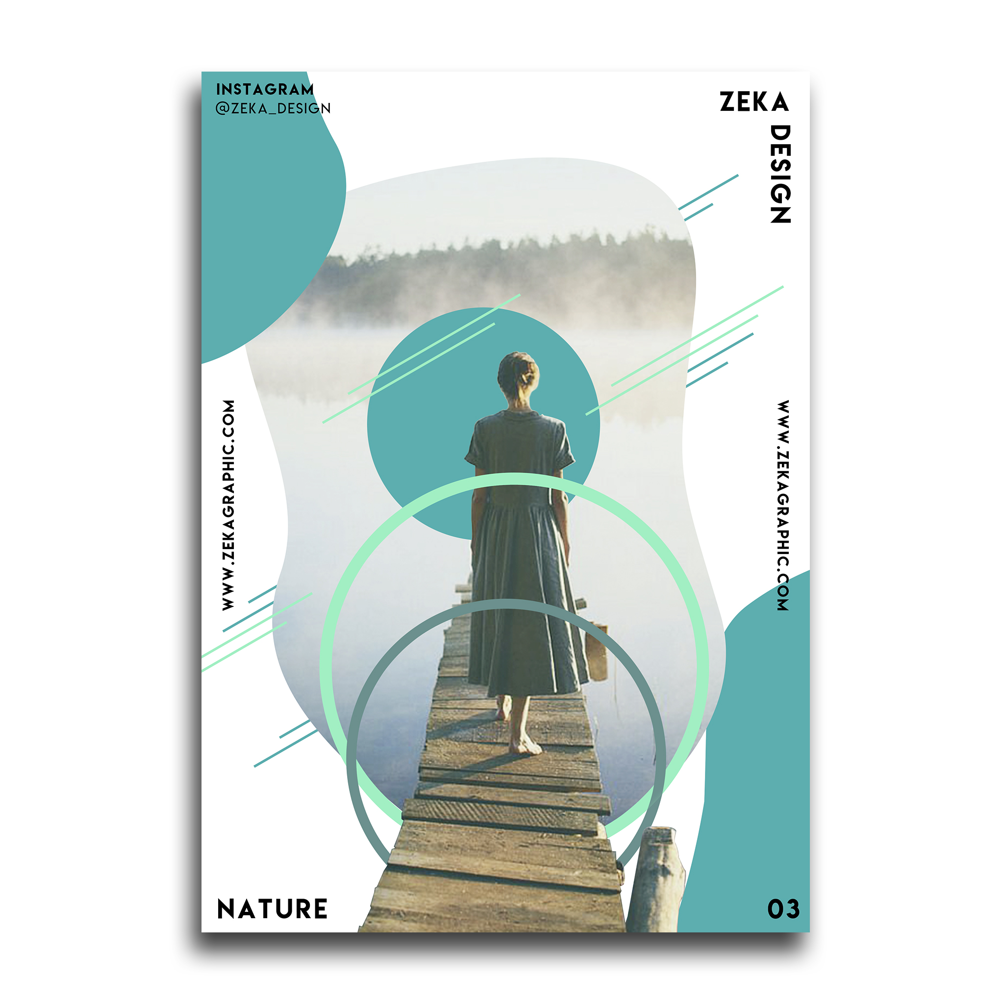 Nature Poster Design Collection Zeka Design