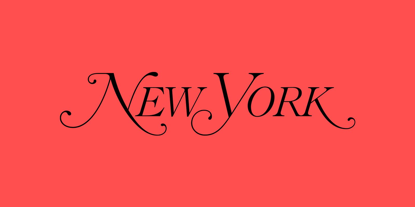 New York Magazine Logo Design Inspiration by Milton Glaser