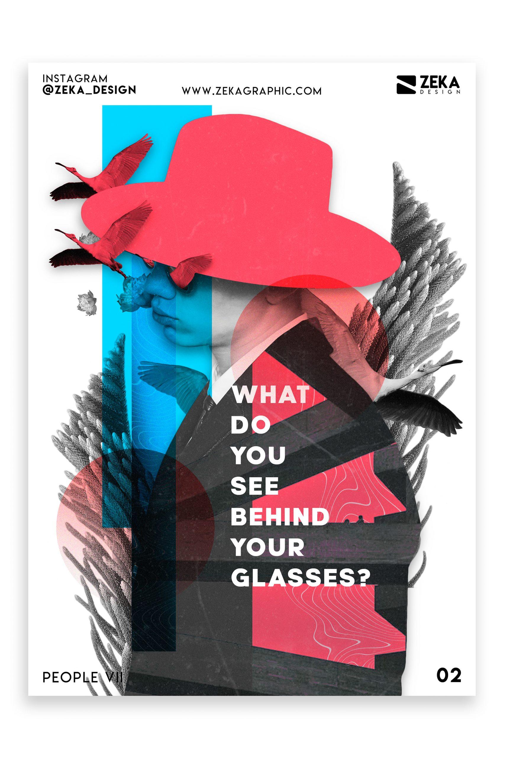 People VII Poster Design Inspiration Graphic Design Portfolio 2