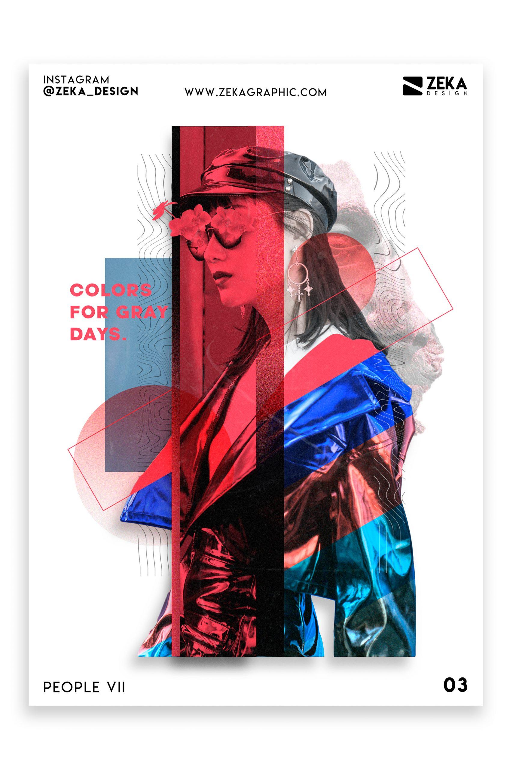 People VII Poster Design Inspiration Graphic Design Portfolio 3