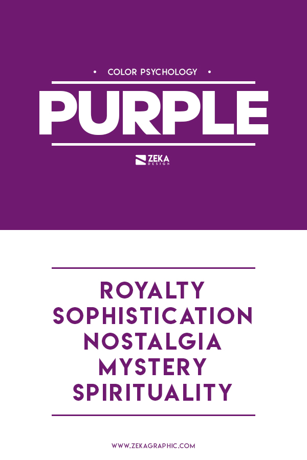 Purple Color Meaning Graphic Design in Color Theory Guide