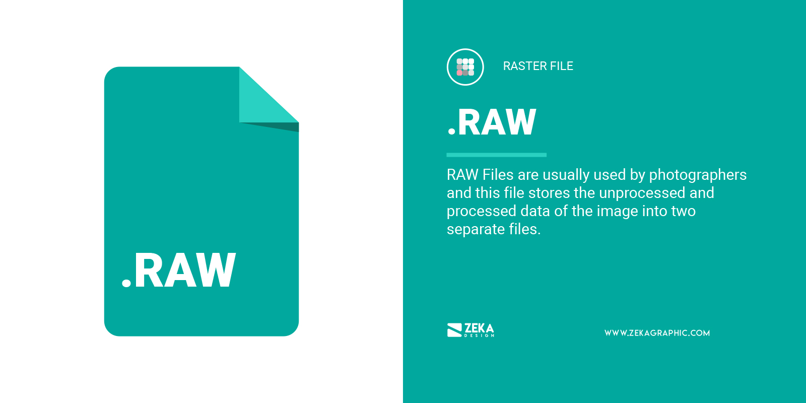 RAW File Format in Graphic Design Explained