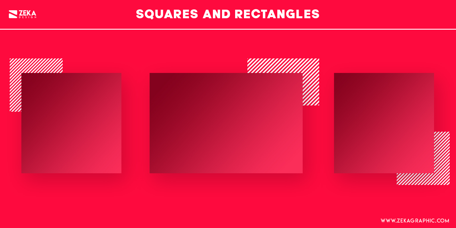 Square Shapes Psychology in Graphic Design