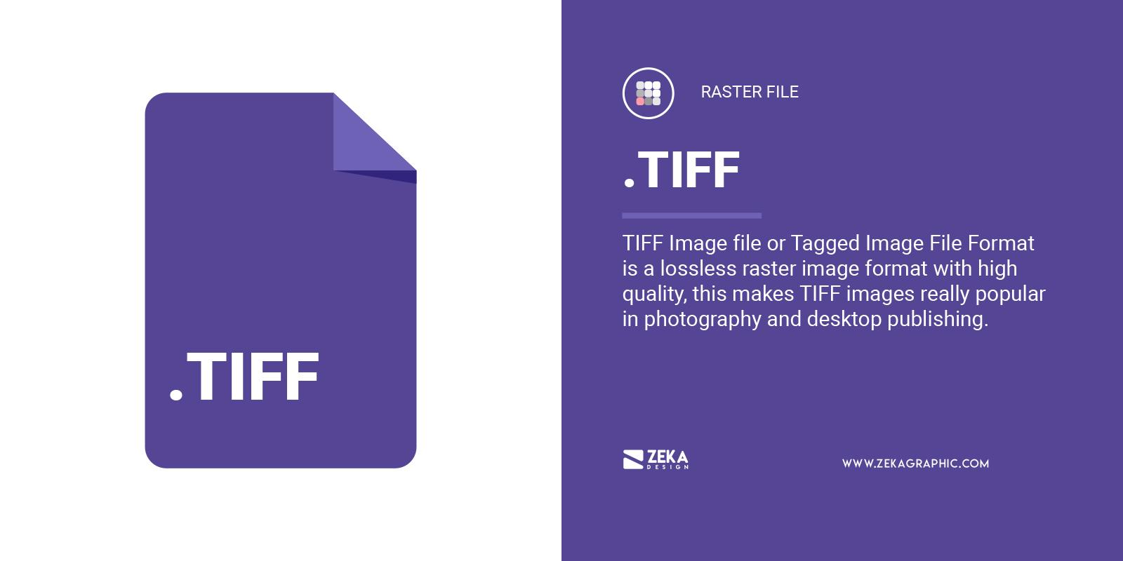 TIFF File Format in Graphic Design Explained