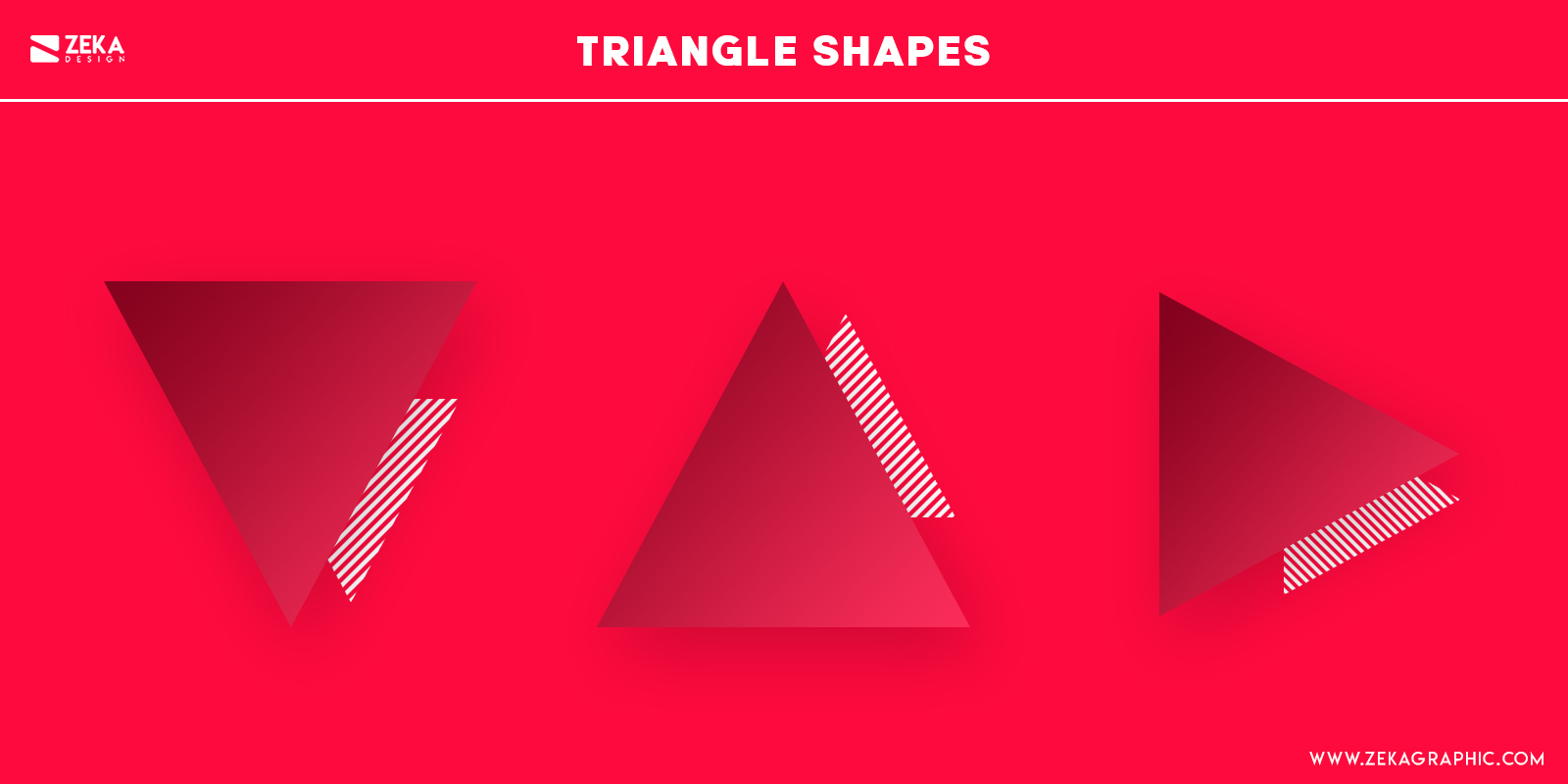 Triangle Shapes Psychology in Graphic Design