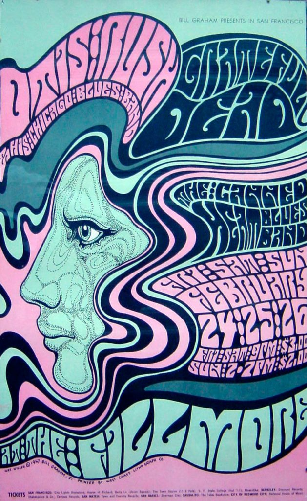 Wes Wilson Father Of Psychedelic Poster 02