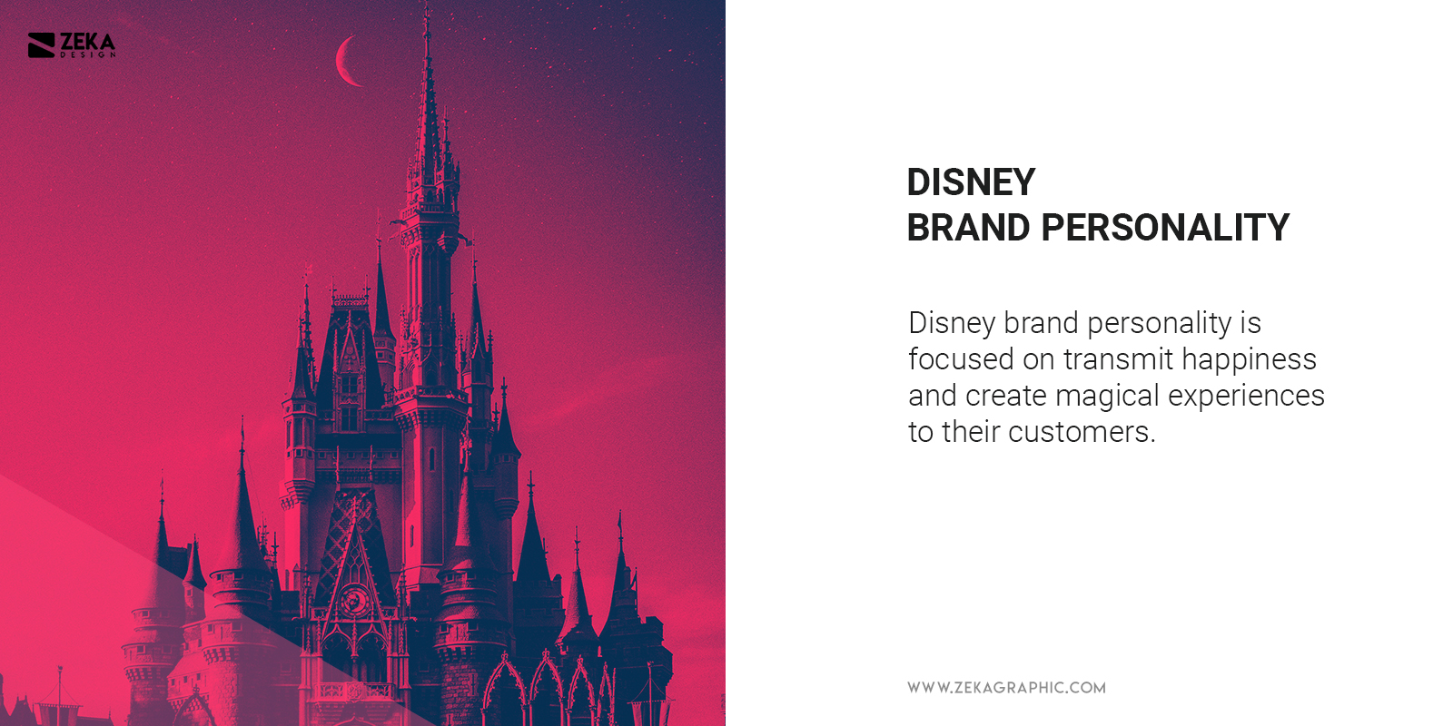 What is Disney Brand Personality Example