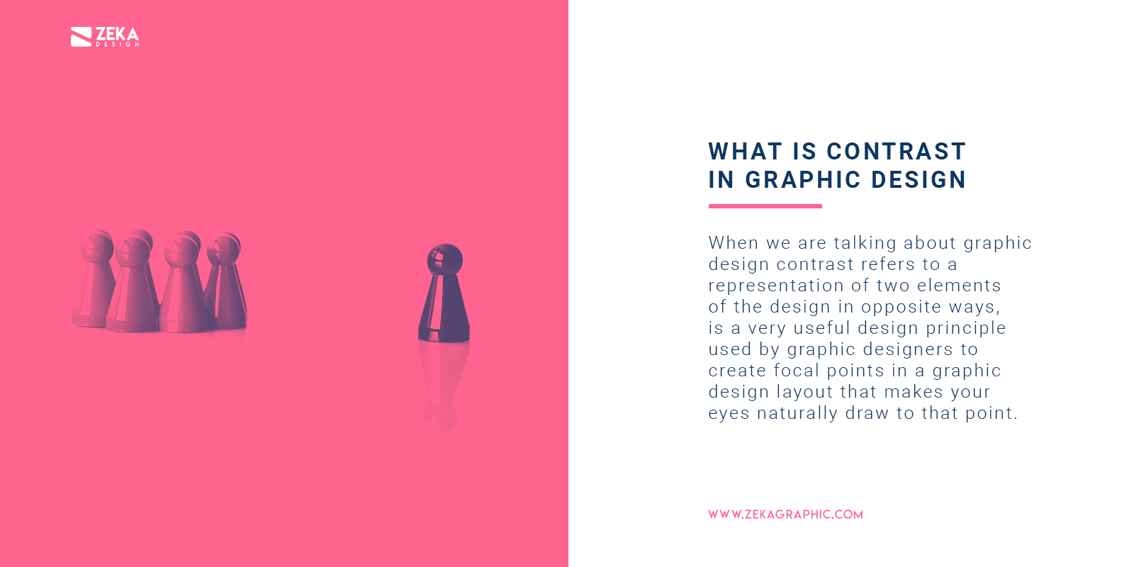 What is Contrast in Graphic Design
