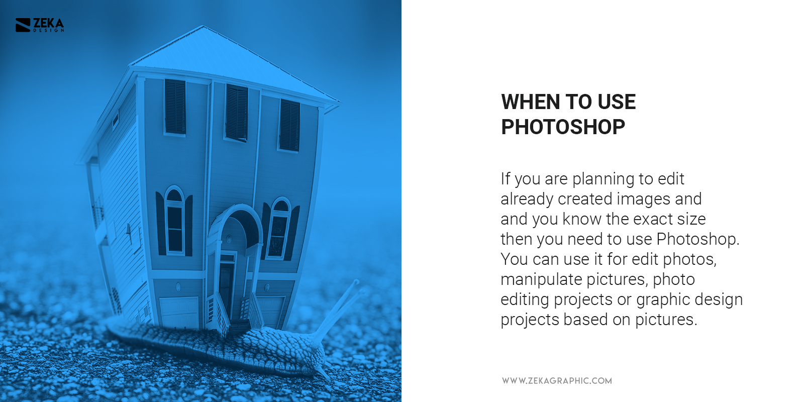 When To Use Photoshop in graphic design