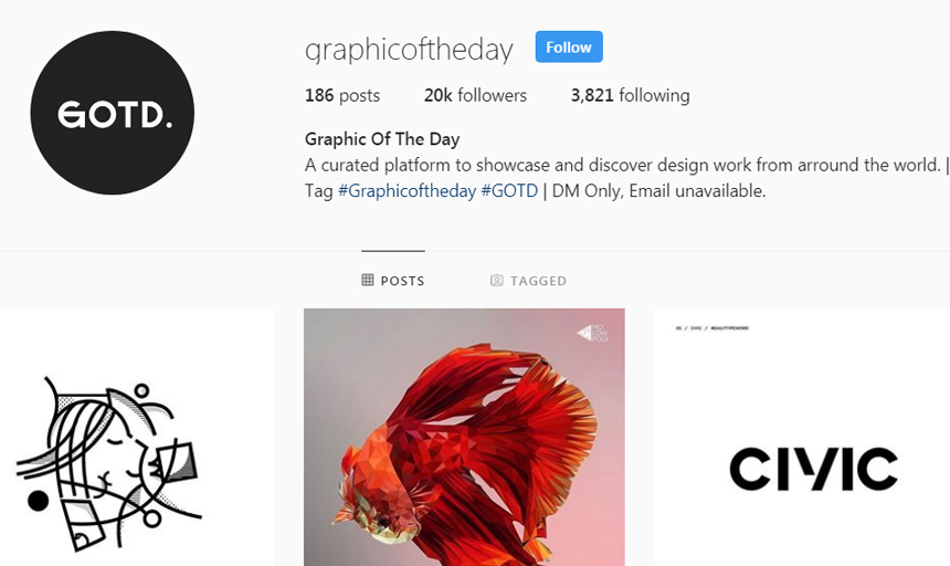 Best Instagram Accounts to Follow on Instagram For Inspiration graphicoftheday