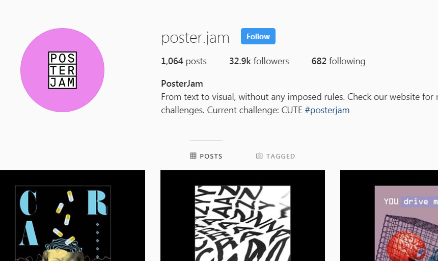 Best Instagram Accounts to Follow on Instagram For Inspiration poster jam