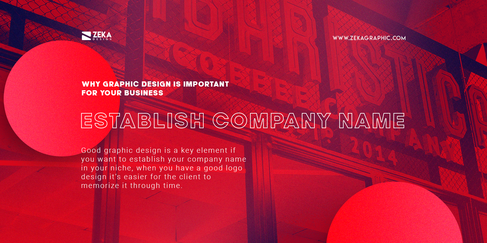 Establish Your Company Name With Graphic Design