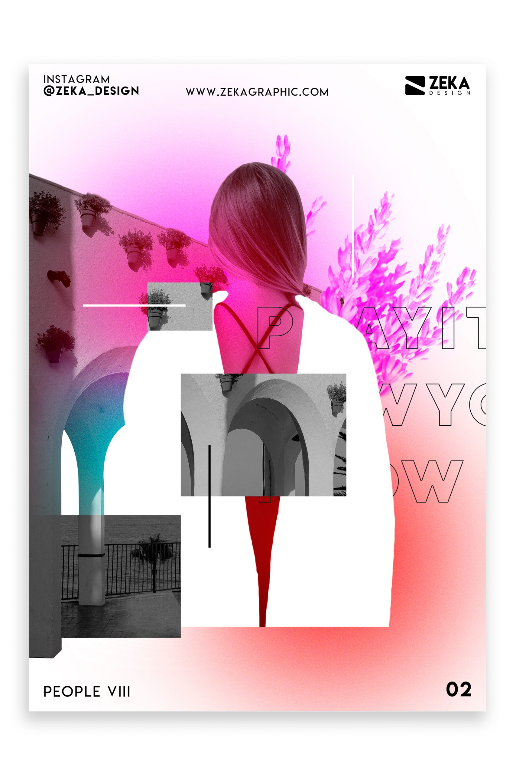 People VIII Poster Design Inspiration Zeka Design Graphic Design Portfolio 2