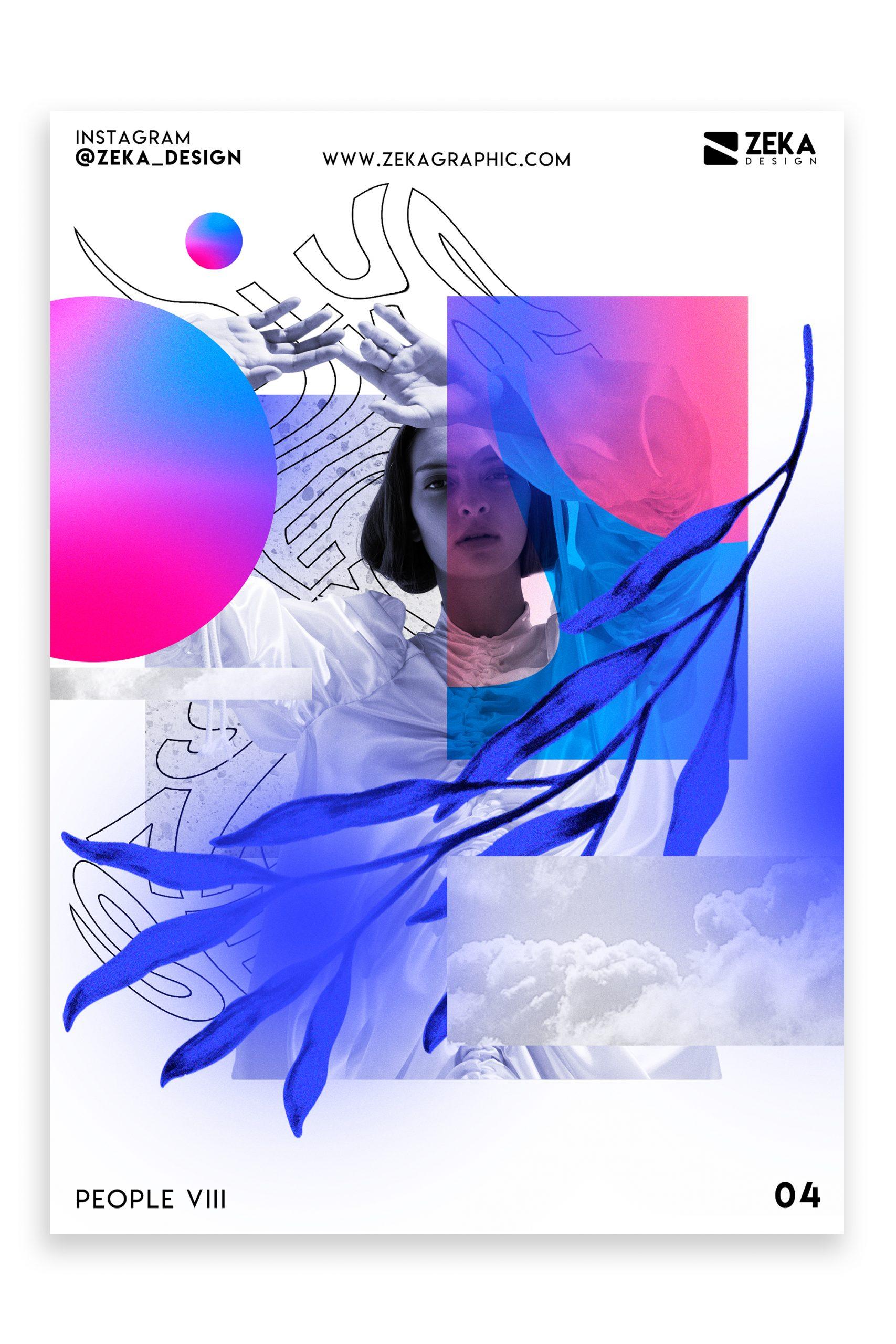 People VIII Poster Design Inspiration Zeka Design Graphic Design Portfolio 4