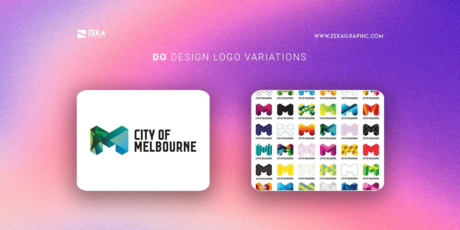 Design Logo Variations Do Good Logo Design Tips