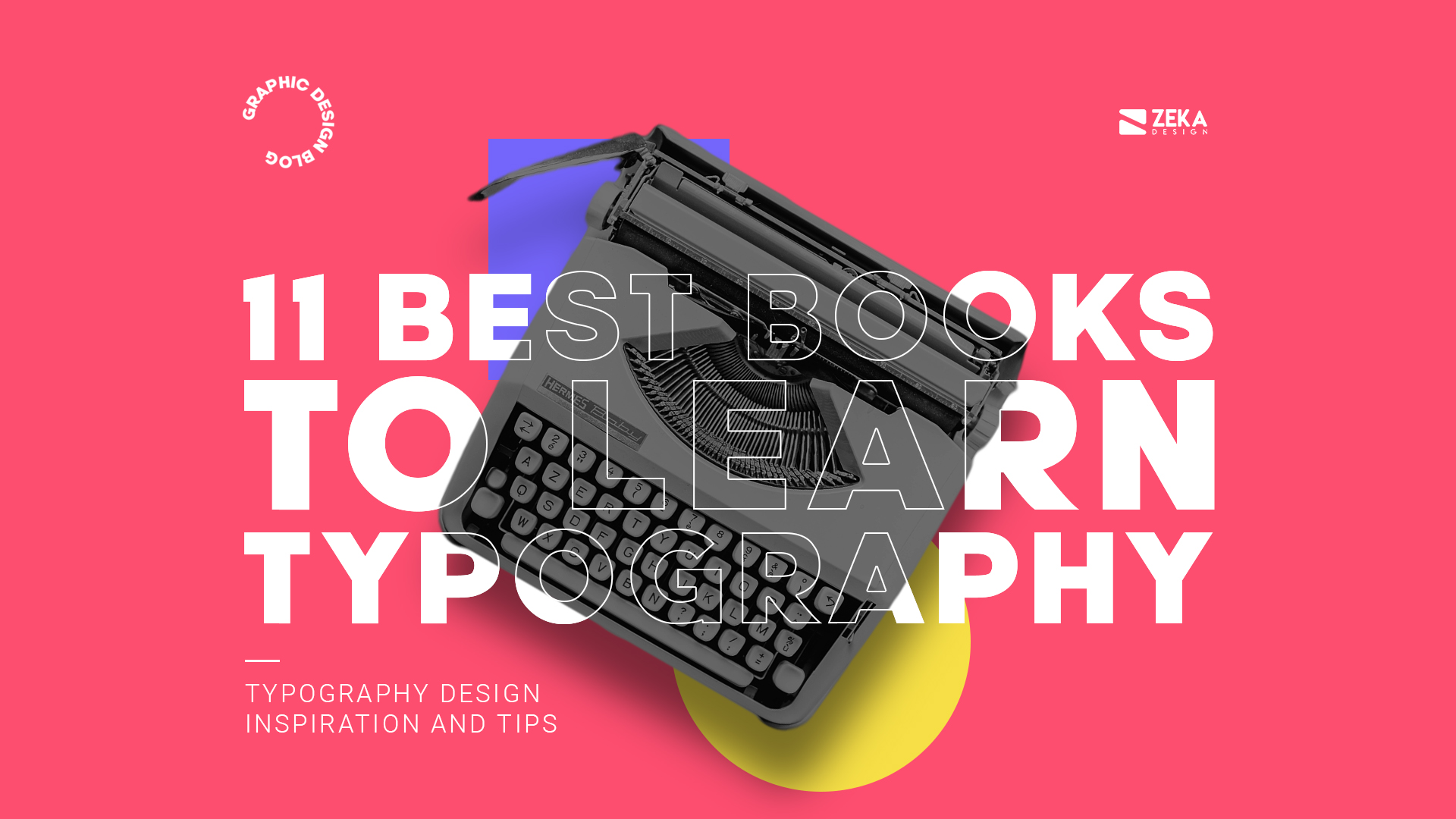 11 Best Typography Design Books For Inspiration