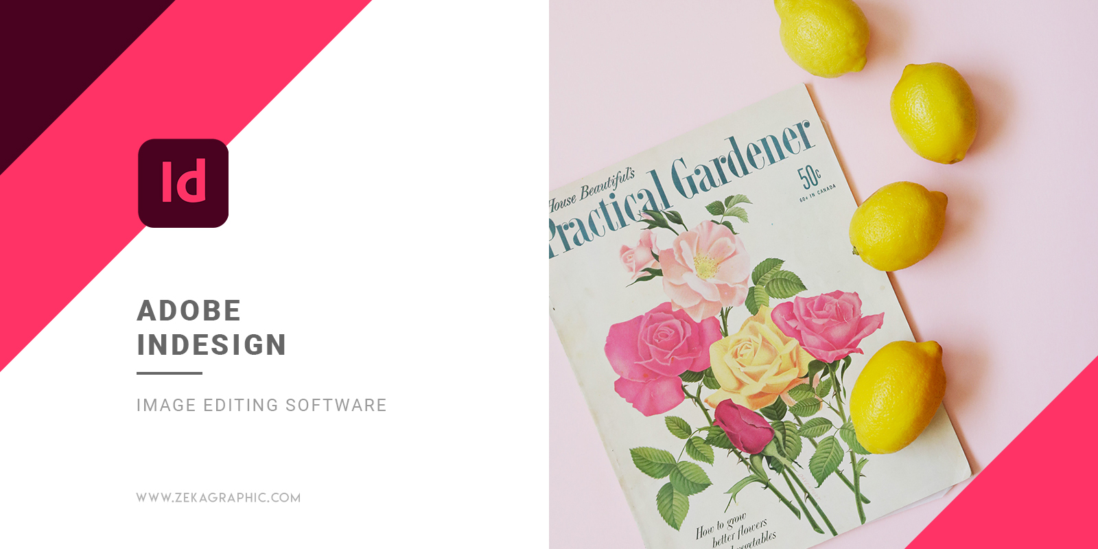 Adobe Indesign Image Editing Software for Graphic Design