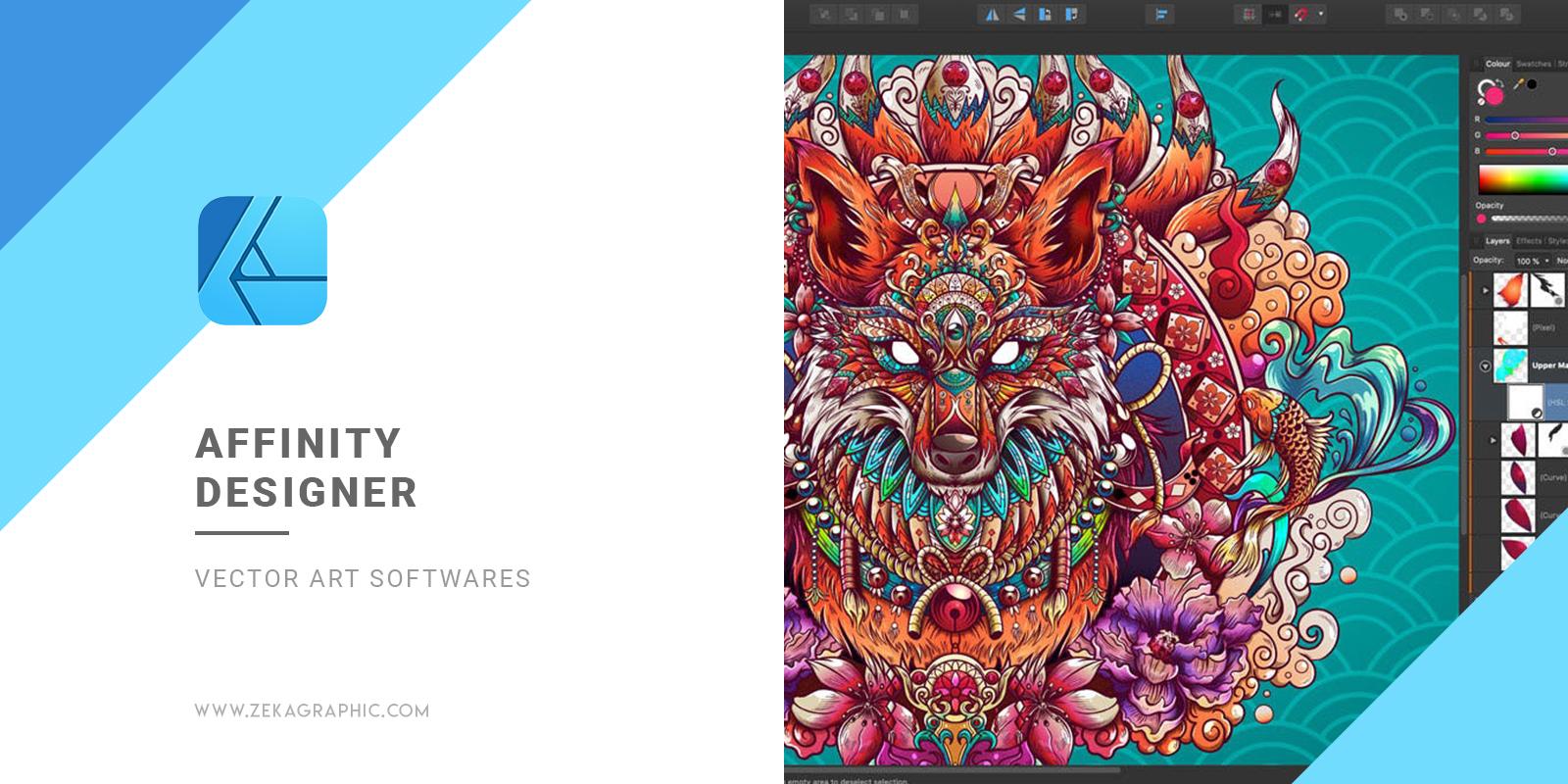 Affinity Designer Graphic Design Software For Vector Art