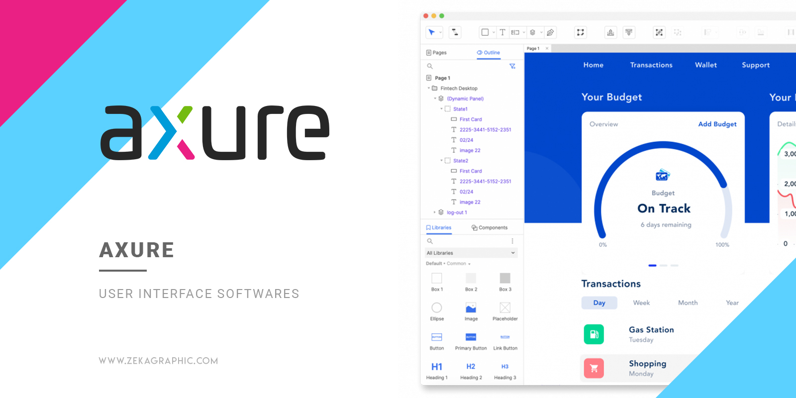 Axure User Interface Software for Graphic Design