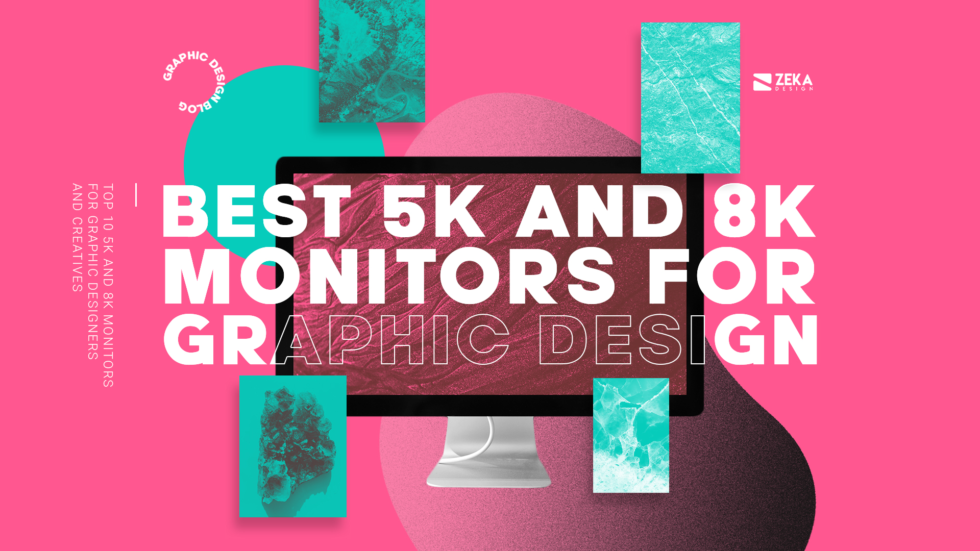 Best 5K and 8K Monitor for graphic design and video editing