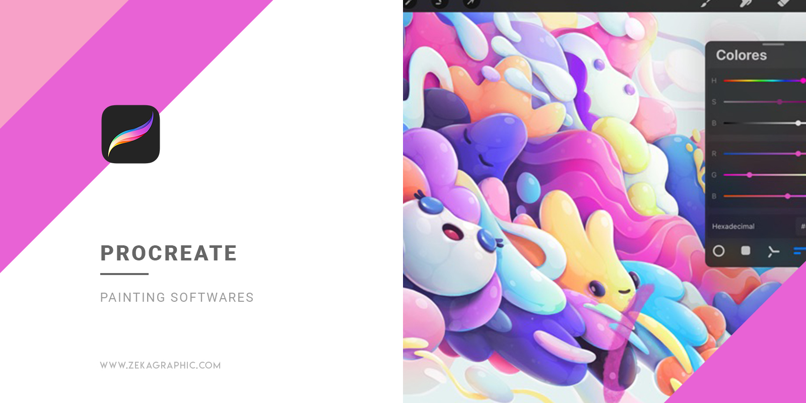 Procreate Best Painting Softwares for Illustrators and Graphic Design