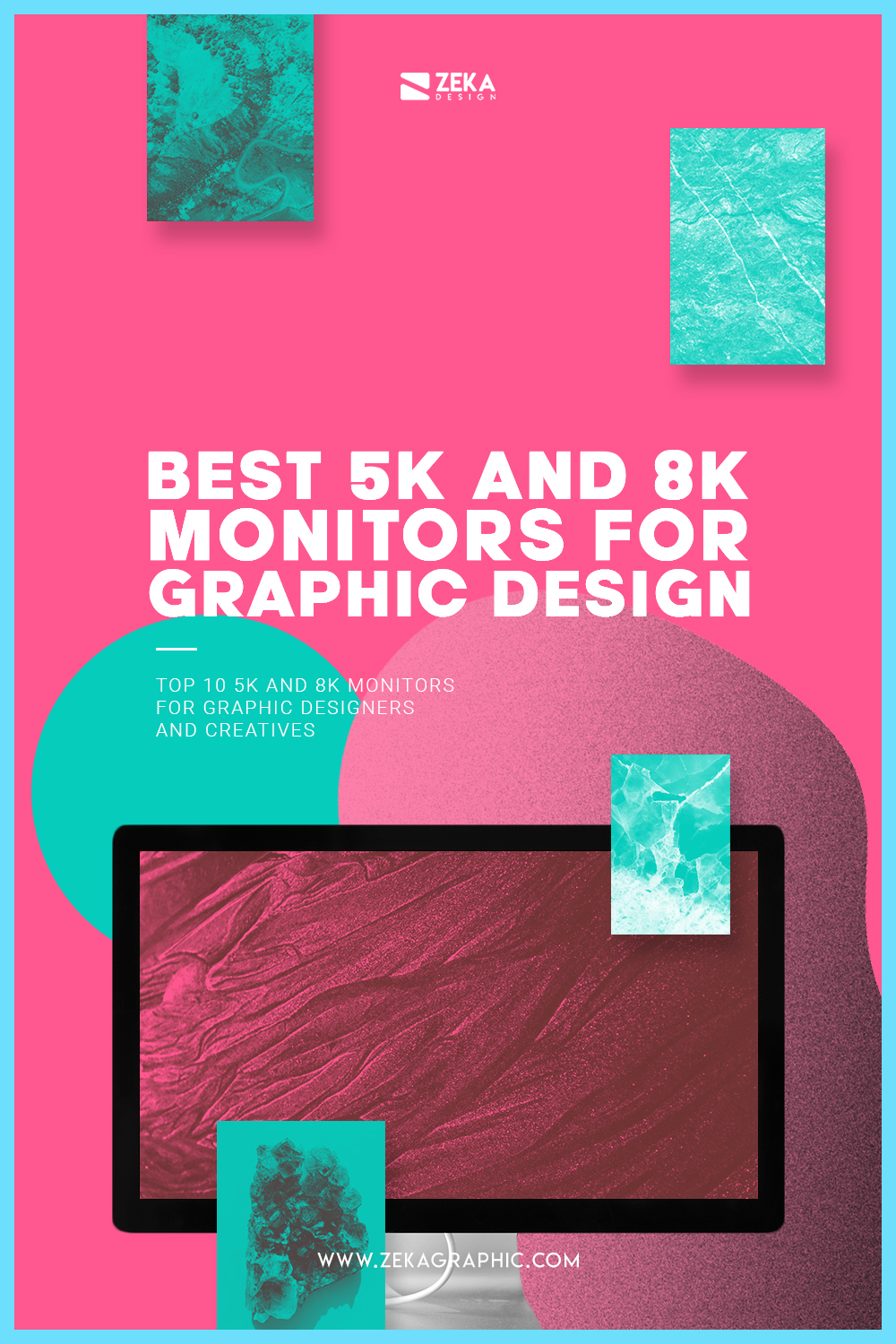 TOP 10 5K Monitor for graphic design and logo design