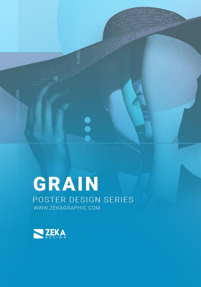 Grain Poster Design Series by Zeka Design Cover