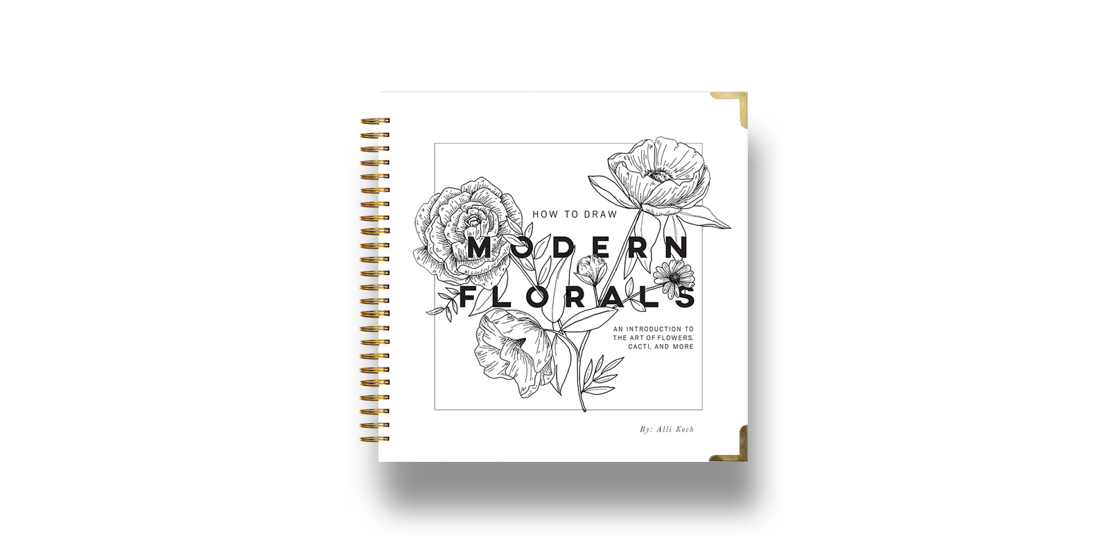 How To Draw Modern Florals Best Illustration Books