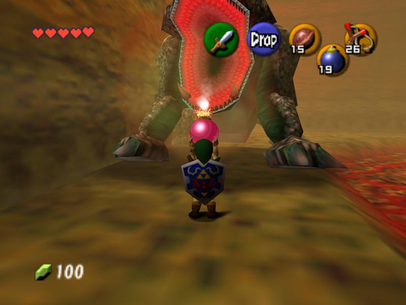 King Dodongo ifrån Zelda: Ocarina of Time.