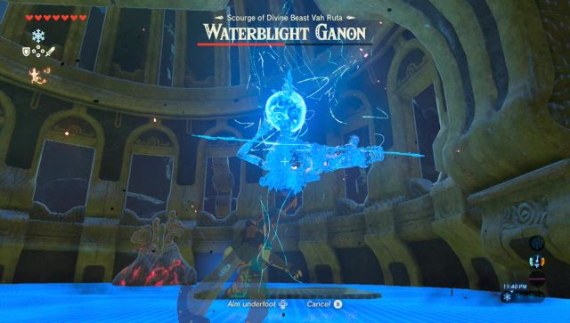 Image result for breath of the wild shield waterblight Ganon