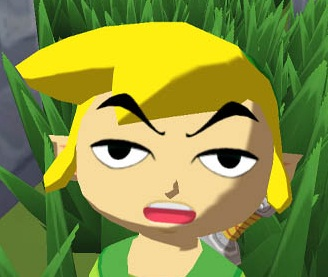 Image result for wind waker link funny face