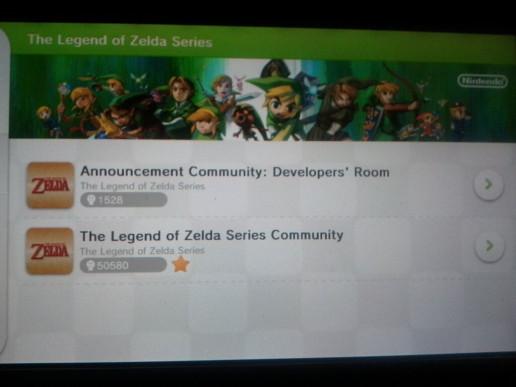 Zelda Miiverse Developer's Room