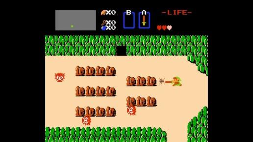 Zelda I Overworld