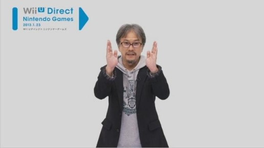 Eiji Aonuma Wii U Direct