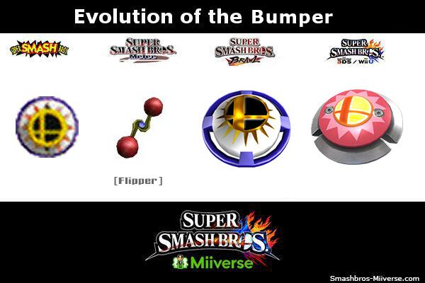 The Bumper Bounces Back In Super Smash Bros 4 Zelda