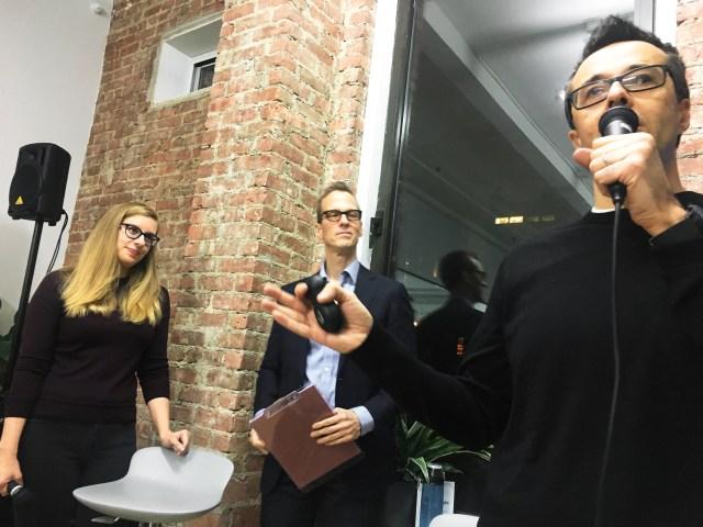 Lara Hogan, Rich Smartt, and Rich Ziade at Postlight.