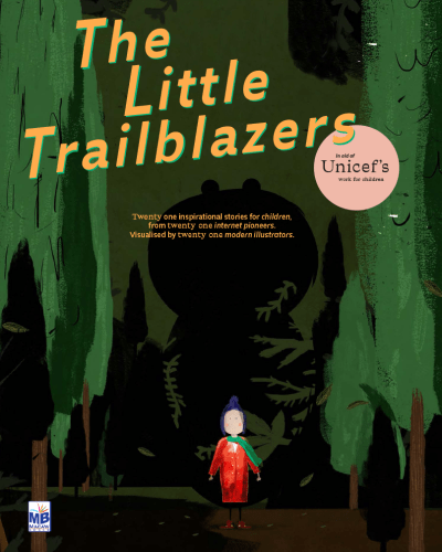 Book cover: The Little Trailblazers, designed by MENDO books.