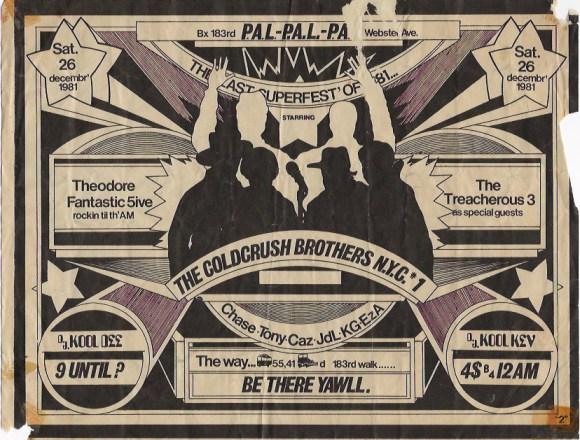 Original hip hop poster